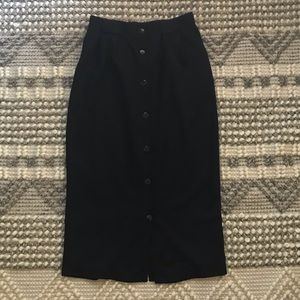 VINTAGE Briggs New York Buttoned Skirt